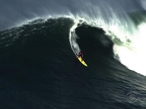 Surf's up for Mavericks Invitational in Calif.