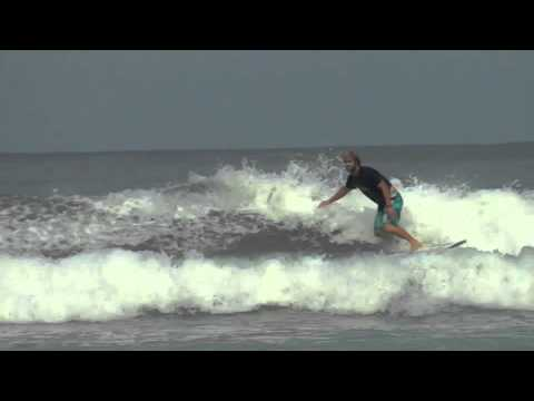 Surf Lessons : Basic Foot Movement