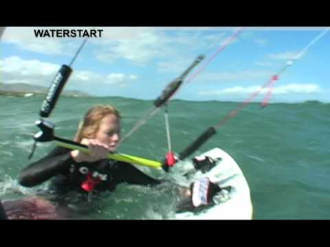 KITEBOARDING LESSONS – How to Waterstart
