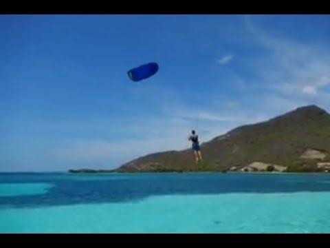 Kite Surfing Fail