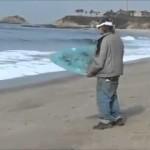 Homeless Drunk guy surfing fail