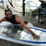 surfing lessons for beginners video at Salinas Grande Beach FIVE by NicaEco.com