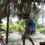 video of Beginner surfing lessons at Salinas Grande Nicaragua TWO by NicaEco.com