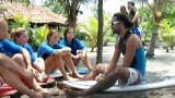 video of Beginner surf lessons at Salinas Grande Nicaragua ONE by NicaEco.com