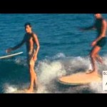 "Classic Longboard surf (part 1) ""Reggae and soul music"""