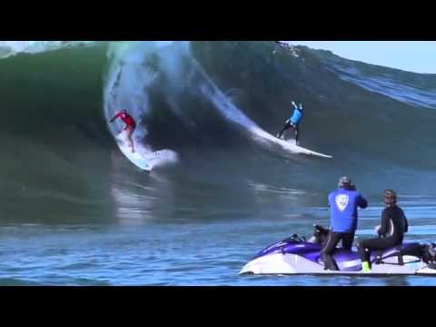 """EPIC SURFING AT MAVERICKS INVITATIONAL CONTEST 2014 """"Be_Cell"""""""