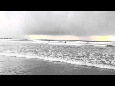 Beginning Surf lessons Playa Guiones Costa Rica