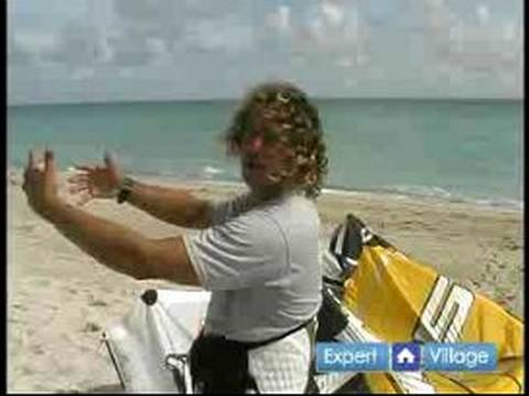 Kiteboarding Lessons for Beginners : How to Launch & Land a Kiteboard