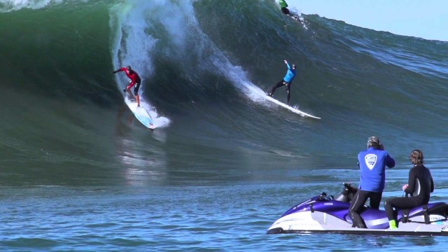 Mavericks Invitational Surf Contest Highlights 2013