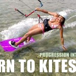 Learn To Kitesurf DVD & Mobile Videos – English – Progression Kiteboarding Beginner