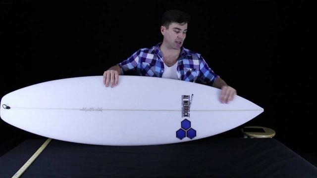 Fred Rubble Surfboard – Shred Show ep #9: Channel Islands Fred Rubble by Al Merrick