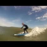 Longboard Surfing Fun! GoPro HD helmet cam