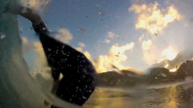 Fail compilation of GoPro surfing wipeouts