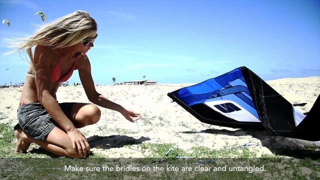 Intro to Kiteboarding – Learn to Kiteboard – Trainer Kite Instructional Video