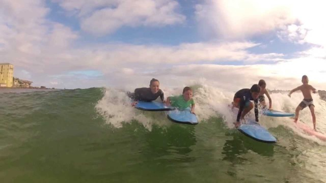 Advanced Kids Surf Lesson Trailer