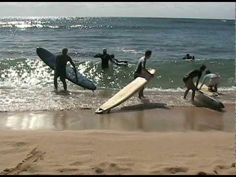 Beginning Surfing in Kauai