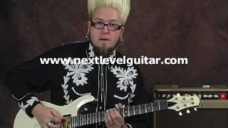 EZ beginner surf tiki spy lick lesson learn how to play electric guitar