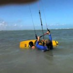 Kiteboarding Lesson in Shallow Flat water spot in Puerto Rico