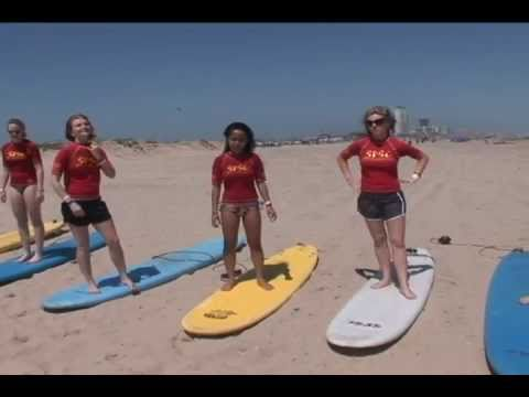 video on Surfing lessons on South Padre Island on Spring Break by South Padre Surf Company