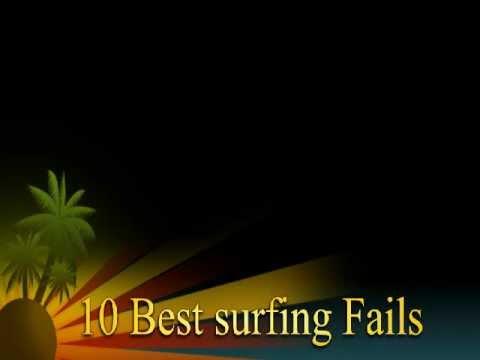 10 best surfing fails