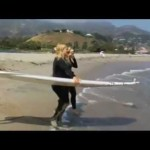 1st Look TV with Maria Sansone on NBC featuring: Surf Lessons with Katie