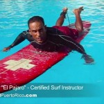 "How to surf: Paddling lesson by Hector Valle ""El Pajaro"" certified surf instructor"