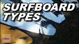 Surfboard types: A Beginner Tutorial