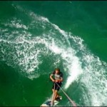 Maui Kite Surfing Lesson, Jibing Around w/ kiteboard instructor Troy