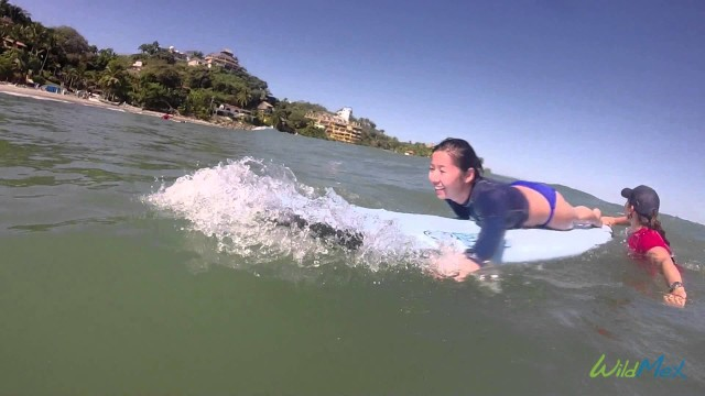 Surf Group Lesson Sayulita with WildMex Surf and Adventure Mexico