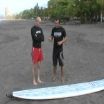 Surf Lesson in Costa Rica part 2