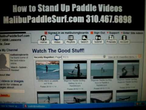 FREE Online SURF LESSONS: Malibu, CA  Surf School How to PaddleBoard – Surfing Lessons – free Videos