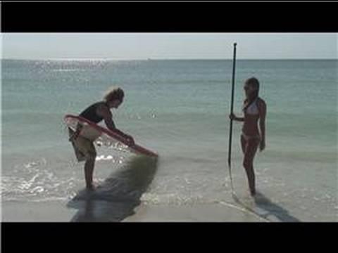 Beginner Paddle Surfing : Beginner Paddle Surfing Tips