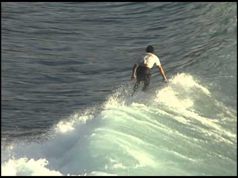 Longboard Surfing in Hawaii