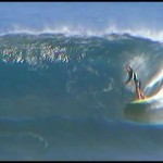 """Longboarding Surfing in Hawaii at Backdoor on the """"North Shore"""""""