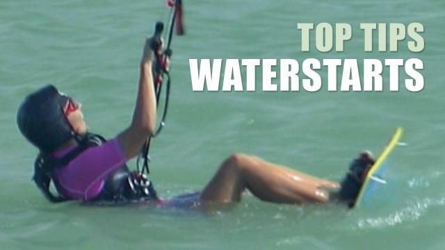 Waterstart – Kitesurfing Top Tips