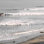 Surfing Poles, Santa Barbara on Fantastic Winter Day – January 25, 2014