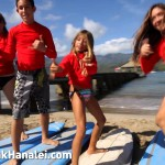 Surfing Lessons at Hanalei Bay with Hanalei Wave Riders – KVIC-TV, myKauai.com