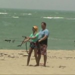 kitesurfing beginner lesson, kite beach, cabarete