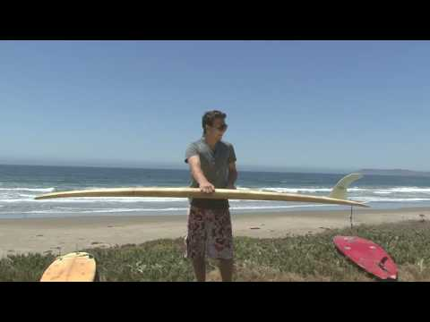 Surfboard Riding & Equipment Tips : Choose a Surfing Longboard