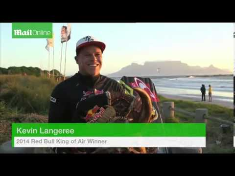 Stunning footage of kite surfing contest in South Africa