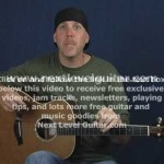 Intermediate acoustic guitar lesson hammer on chord shapes create melody
