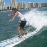 Surfing Lessons Hawaii from Pacific Soul Surfing, Waikiki Beach, Honolulu – Summer 2008