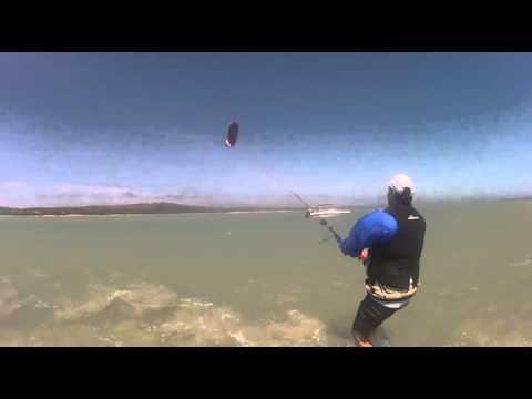 First Kite surfing lesson