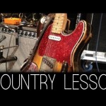 "Country solo ""5 styles series"" – Alex Feather Akimov (Guitar lesson) Level: Intermediate"