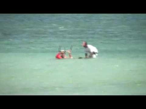 My First Kite Surfing Lesson.avi