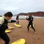 Nomad Surfers Surfing Camp, Vale Figueiras, Aljezur, Algarve, Portugal