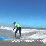 Learn to Surf Lessons with Surf and Sun