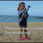 Youngest Kiteboarder , Kitesurfing  Lessosn Maui Hawaii Aqua Sports Maui