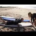 "Surf Lessons with Katie featured on BBC America's ""Lonely Planet"" TV!"