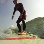 Session Surf Longboard & GoPro HD, la Guérite